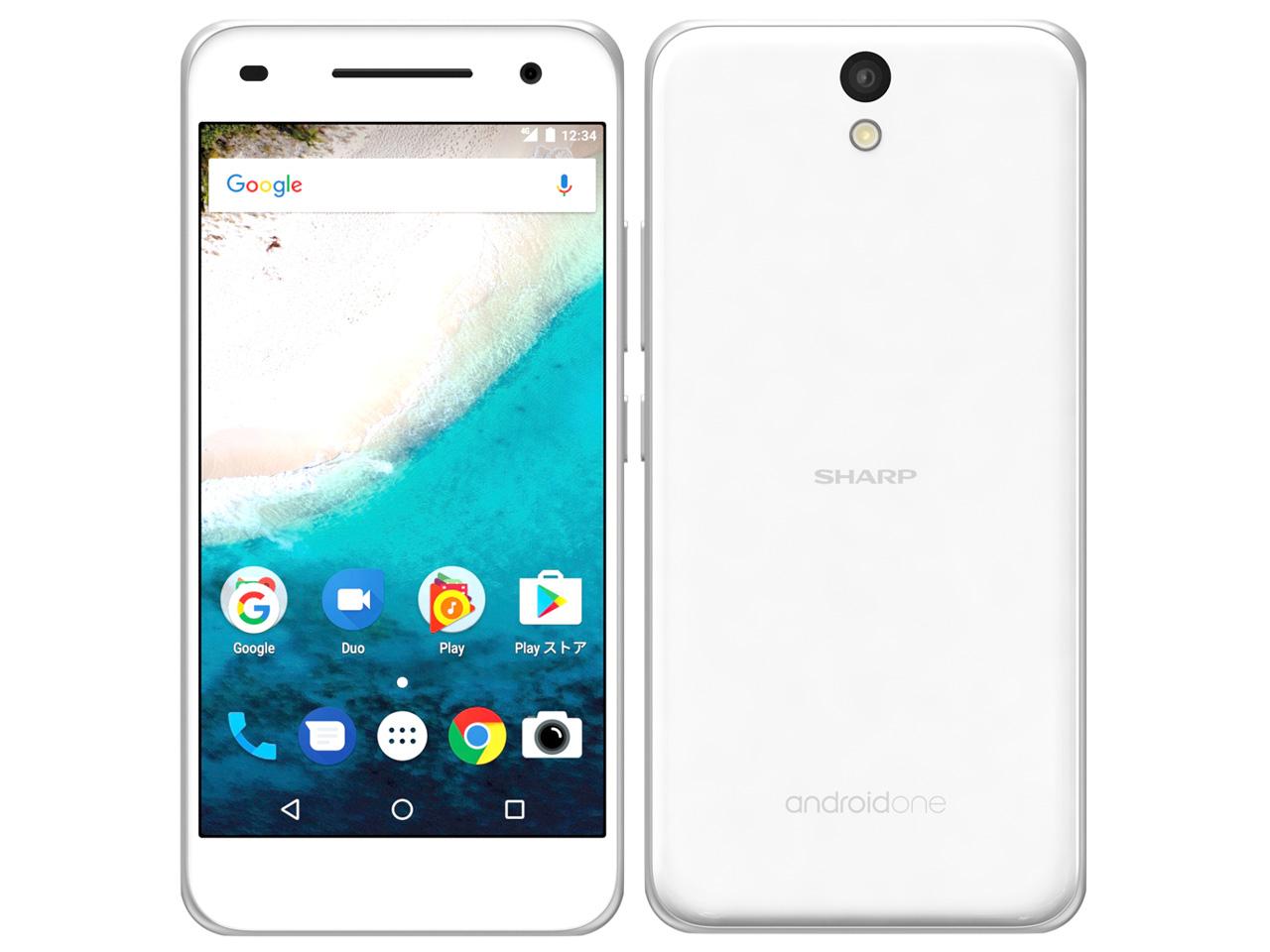 白ロム 中古 Y!mobile Android One S1 ホワイト 本体のみ [Cランク]