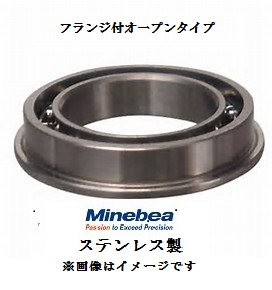 NMBステンレス フランジ付オープン ミニチュアベアリング 感謝価格 NMBステンレス1個 送料無料/新品 DDLF1280