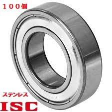 リールなどに錆びにくいステンレス440C 100個入り SMR63ZZ DDL-630ZZと同寸法 限定価格セール ISC 内径3mm外6mm幅2.5mm NSKマイクロプレシジョン ステンレス 優先配送