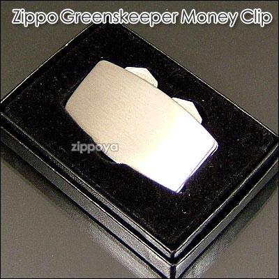 贈答 在庫限り 即納 ZIPPO 公式サイト アクセサリ zippo ジッポ ジッポー Golf ゴルフアクセサリー Greenskeeper CLIP BRUSHED STAINLESS マネークリップ MONEY