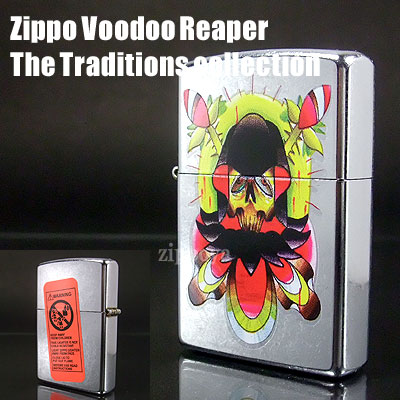ZIPPO Zippo lighters Zippo lighter Voodoo Reaper The Traditions collection 20910