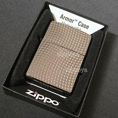 【ZIPPO】ジッポ/ジッポー アーマー シルバー 深彫り 両面加工 CROSS WAVE RIDGE 28544