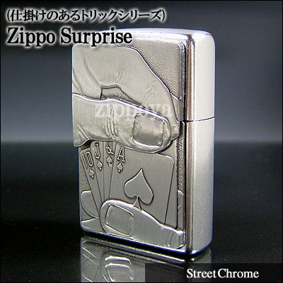 ZIPPO Zippo打火機Zippo打火機Royal Flush Hidden Image撲克牌20827