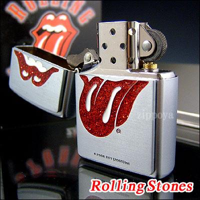 ZIPPO Zippo打火機Zippo打火機Rolling Stones Glitter滾石隊20888