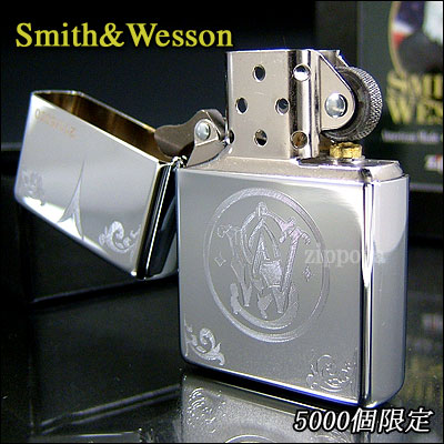 ZIPPO Zippo lighters Zippo lighter the 5000 limited Smith Wesson Logo firearms manufacturer Smith & Wesson 24214