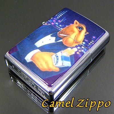 【ZIPPO】ジッポ/ジッポー Camel Smokin Joe 4 タバコ柄 キャメル ライター