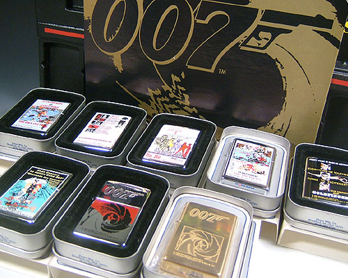 Zippo / 芝寶詹姆斯 · 邦德 007 系列 Zippo