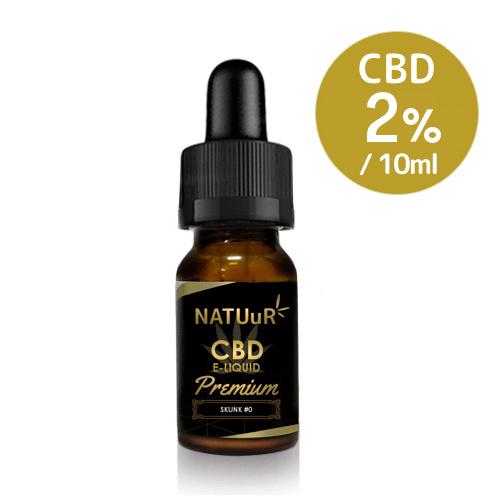 NATUuR CBD2% E-Liquid Premium 10ml CBDリキッド プレミアム