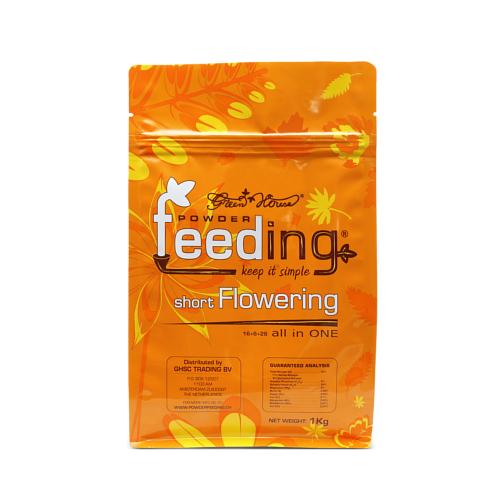 粉末肥料 Powder Feeding - short Flowering 1kg パウダーフィーディング ショートフラワリング