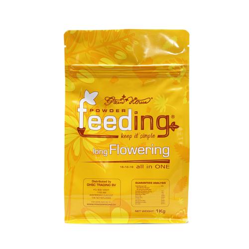粉末肥料 Powder Feeding - long Flowering 1kg パウダーフィーディング ロングフラワリング