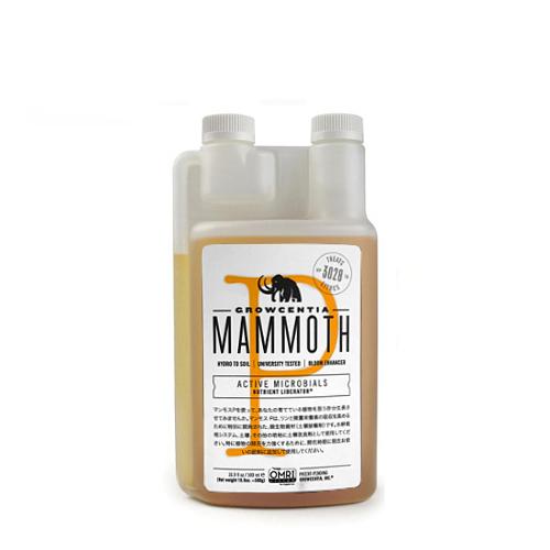 微生物資材 Growcentia - Mammoth P 500ml マンモスP