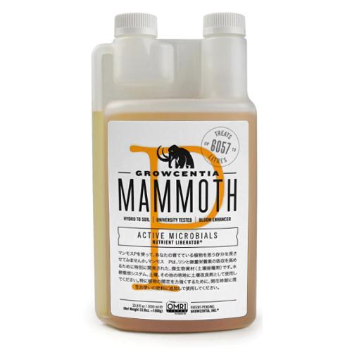 微生物資材 Mammoth P 1000ml マンモスP