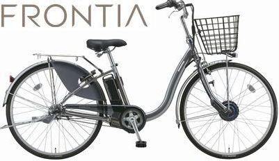 【地域限定送料無料】【防犯登録無料!おまけ4点セット付き】【2018年モデル】BRIDGESTONE(ブリヂストン) FRONTIA (フロンティア) 電動自転車 (F6AB28/F4AB28) 【3年間盗難補償付き】