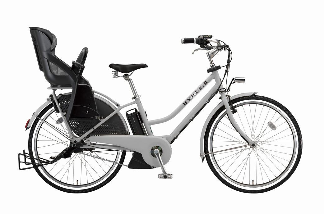【送料無料!防犯登録無料!おまけ3点セット!】3人乗り対応!【2018年モデル】BRIDGESTONE(ブリヂストン) HYDEE.II (ハイディツー) VERY(ヴェリィ)コラボ 限定モデル 3段変速付き 電動自転車 (HL6C38) 【3年間盗難補償付き】