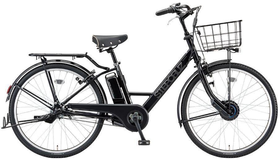 【防犯登録無料!おまけ4点セット付き!】後ろ子供乗せ付きお買い得モデル!【2016年モデル】BRIDGESTONE (ブリヂストン) STEPCRUZ e (ステップクルーズe) 電動自転車 (ST6B49) 【3年間盗難補償付き】
