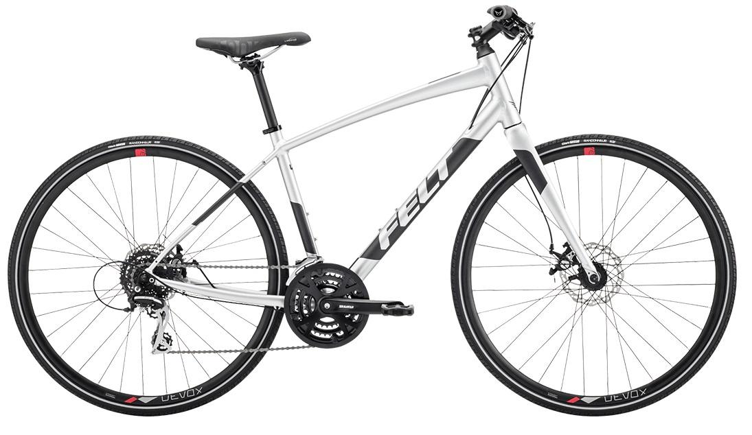 送料無料(一部地域除く) 2020年モデル FELT(フェルト) Verza Speed 40(ヴェルザスピード 40) 700C クロスバイク グロスプラチナ