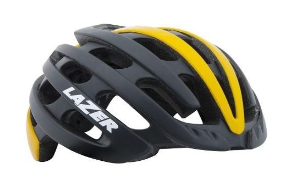 ★(一部地域除く) LAZER(レイザー) Z1(ゼットワン) ヘルメット マットブラック/イエロー