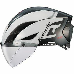 ■【送料無料(一部地域除く)】オージーケーカブト OGK Kabuto 自転車ヘルメット AERO-R1 エアロ-R1 S/M G-1ホワイトダークグレー サイクリングヘルメット 自転車用品 ロード用ヘルメット