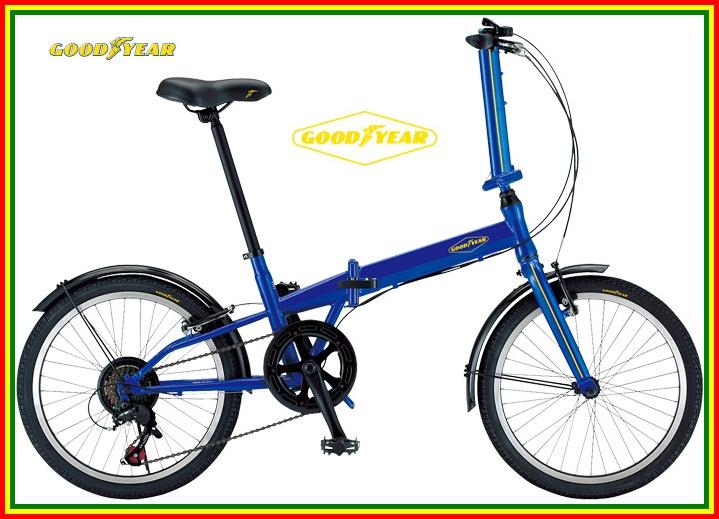 GOODYEAR(固特异)FDB207NP不漏氣的不爆胎輪胎錄用20 nchi 7變速折疊自行車