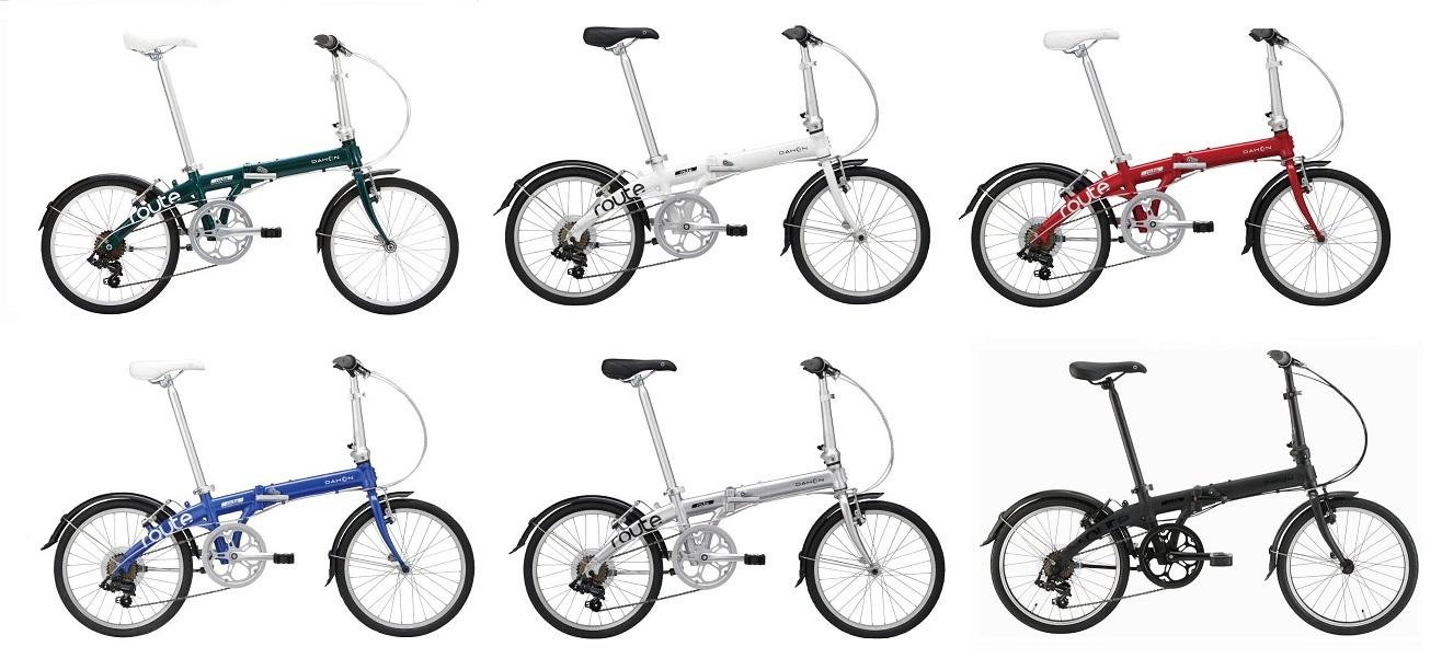 ●送料無料(一部地域除く) DAHON(ダホン) ROUTE(ルート) 20インチ 折り畳み自転車 フォールディングバイク