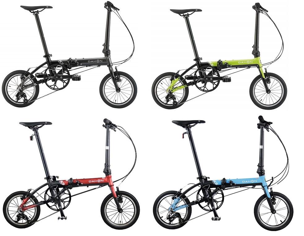 ●DAHON(ダホン) K3(ケースリー) 着脱ペダル仕様+選べるサービス品有り 14インチ 折りたたみ自転車 フォールディングバイク 2020年モデル 【送料無料(一部地域除く)】
