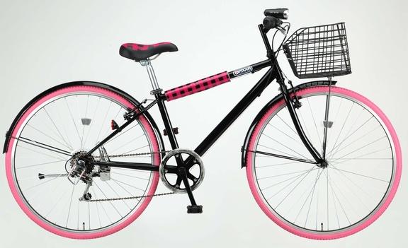 【防犯登録無料】アウトドア ブランド(OUTDOOR) 「ODP-27BASKET」 27インチ 6段変速付き シティサイクル自転車 【おまけ3点セット付き】