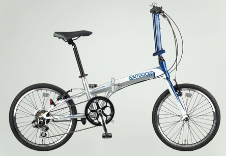"""有戶外名牌(OUTDOOR)""""ODP-FDB207""""20英寸7段變速的折疊自行車"""