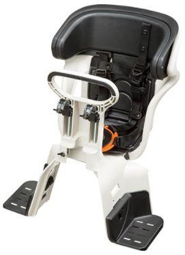 【Panasonic(パナソニック)】 電動自転車専用 フロントチャイルドシート(前用)前子供乗せ ◆ホワイトグレー(NCD401)