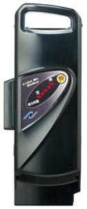 パナソニック (Panasonic) 電動自転車用 スペアバッテリー (NKY250B02→NKY452B02/NKY452B02B) 【2008年・2009年発売 RX-10S用】