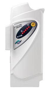 パナソニック (Panasonic) 電動自転車用 スペアバッテリー (NKY251B02→NKY512B02/NKY512B02B) 【2008年発売 RX-5U用】