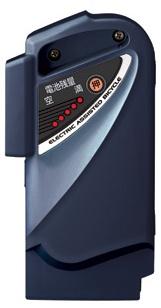 パナソニック (Panasonic) 電動自転車用 スペアバッテリー (NKY275B02→NKY491B02) 【2010年~13年発売 ビビSS・リルト用】