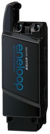 サンヨー(SANYO) エネループバイクSPL用 スペアバッテリー 「CY-EB80K」 (パナソニック品番:NKY385B02)
