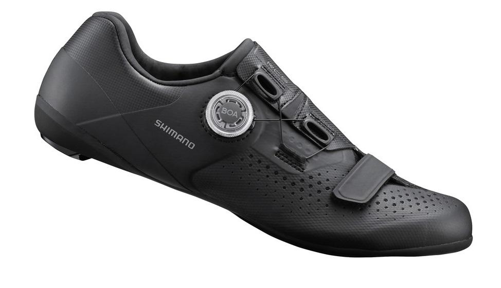 ●送料無料(一部地域除く) SHIMANO(シマノ) RC5(ESHRC500) SPD-SL ロードバイク用 ビンディングシューズ ブラック
