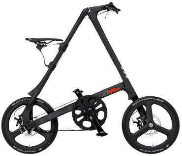 【送料無料!防犯登録無料!】【2016年モデル】STRIDA C1 (ストライダC1) 折りたたみ自転車 カーボンフレーム 限定モデル
