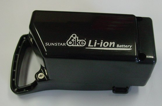 Lithium-ion battery for exclusive use of the SUNSTAR (Sunstar) CS (compact sports)