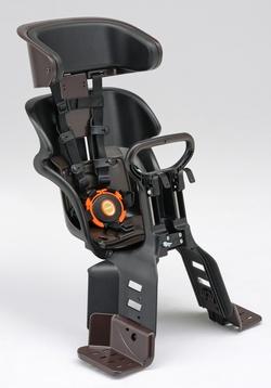 YAMAHA(ヤマハ) PAS電動自転車専用 3人乗り自転車対応!ヘッドレスト付コンフォートフロントチャイルドシート(前子供乗せ)