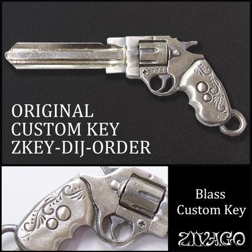 ピストル 銃 リボルバー 合鍵 スペアキー zkey-dij-order ZIVAGO