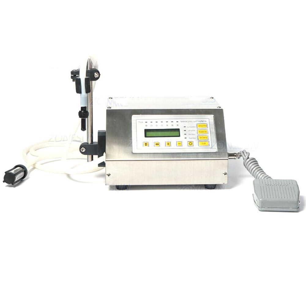 デジタル制御 ポンプ 飲料水 液体 充填機 5-3500ml オリジナル日本語説明書つき