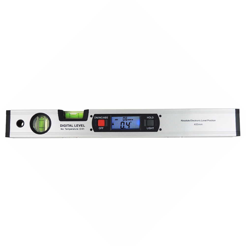 It is with a digital level level bubble level water pipe horizontal  perpendicular incline backlight angle weathering clinometer Japanese manual