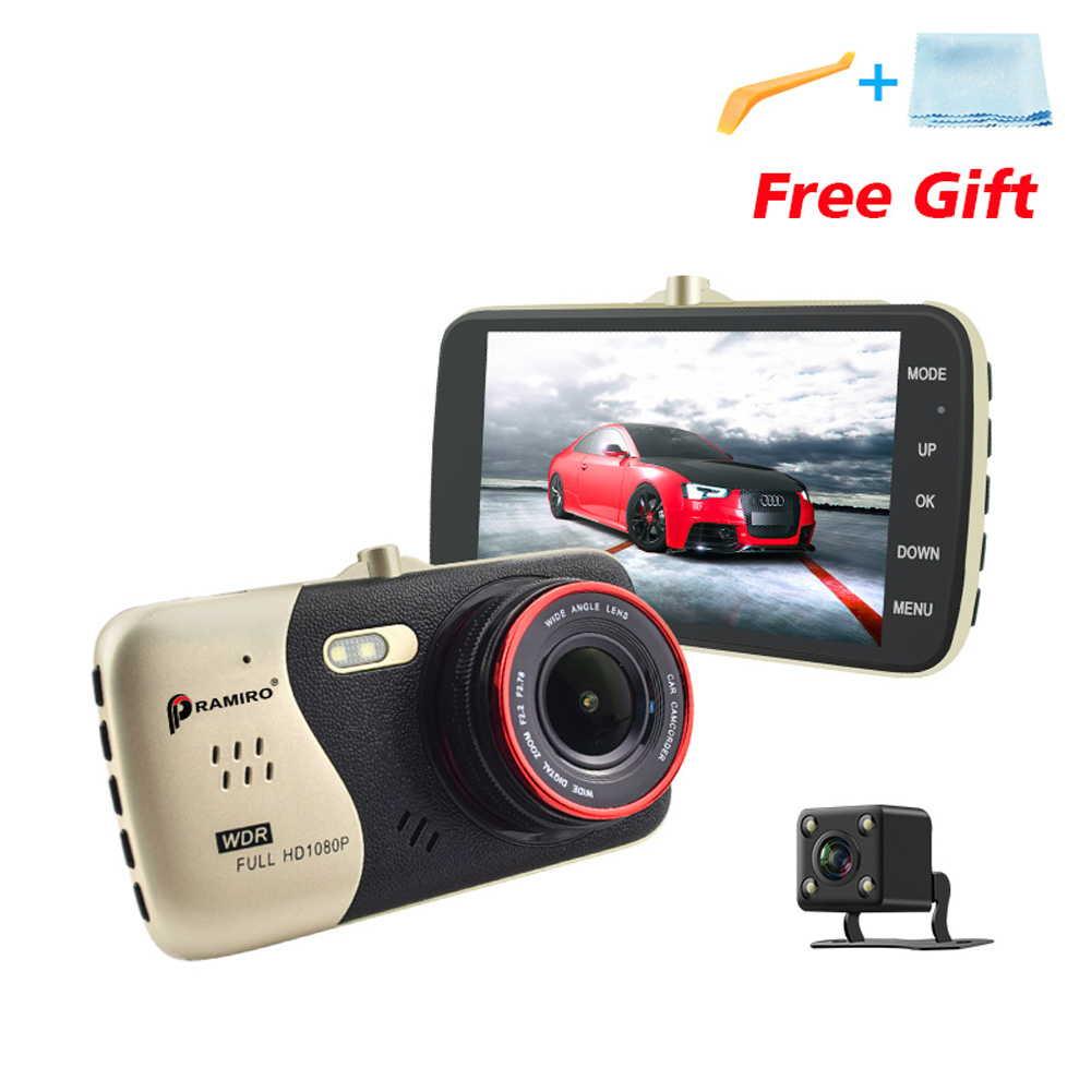 4.0インチ IPS ドライブレコーダー バックカメラ付き フルHD 1080P 広角170度 Novatek NTK96658 車載カメラ オリジナル日本語説明書つき