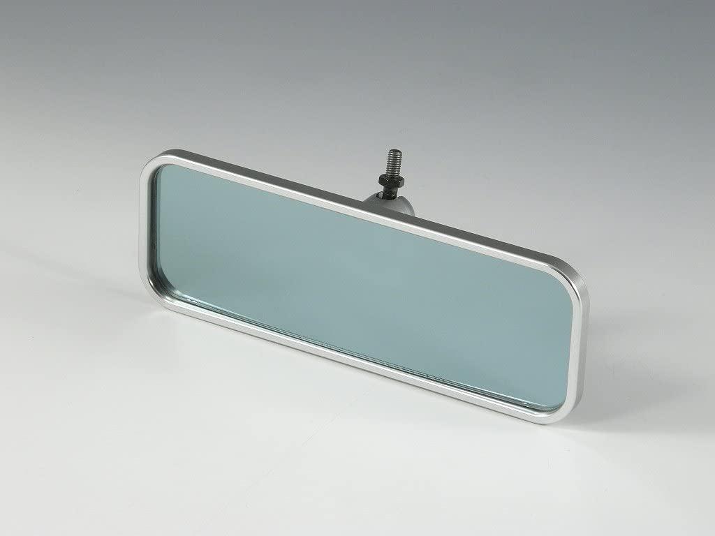 超コンパクトサイズながら 1250Rのブルーミラーを使用することで 眩しさを抑え 必要最小限な視界を確保 半額 ☆最安値に挑戦 コンパクトルームミラーシルバーSサイズ アーム別