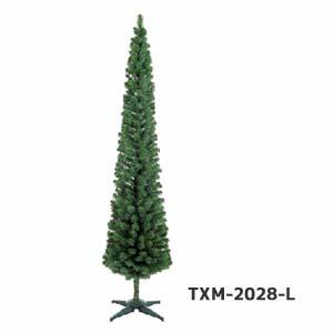 在庫限り【クリスマスツリー210cm】スレンダーツリー210cm TXM-2028-L*