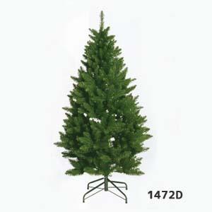 【全長約150cmクリスマスツリー 3分割】1本売り1472D 最大幅約70cm *