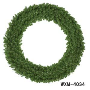 4分割の組み立て式【170cmパインリース】WXM-4034【クリスマスリース】*