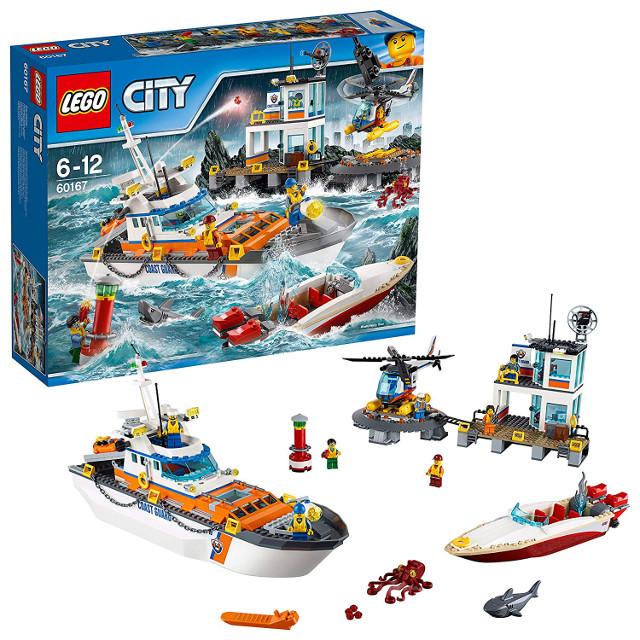LEGO シティ 海上レスキュー隊と司令基地 60167