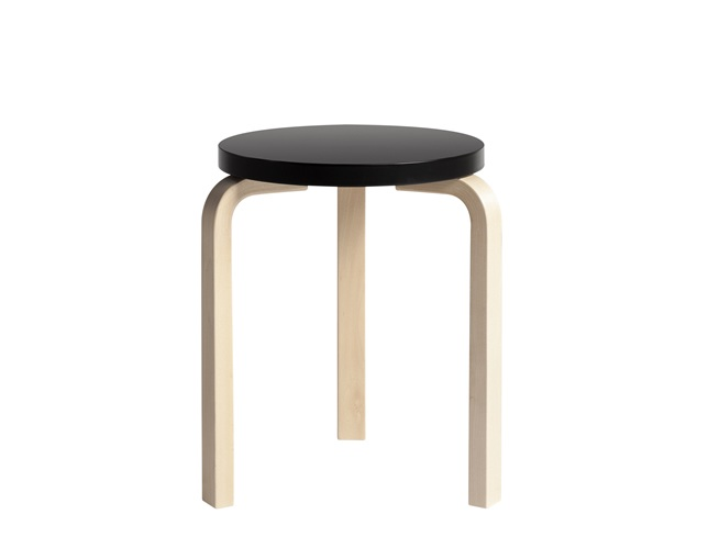 【送料無料】【Artek (アルテック)STOOL 60】80周年アニバーサリーカラー パイミオ カラー  ブラック  北欧家具 スツール 数量限定