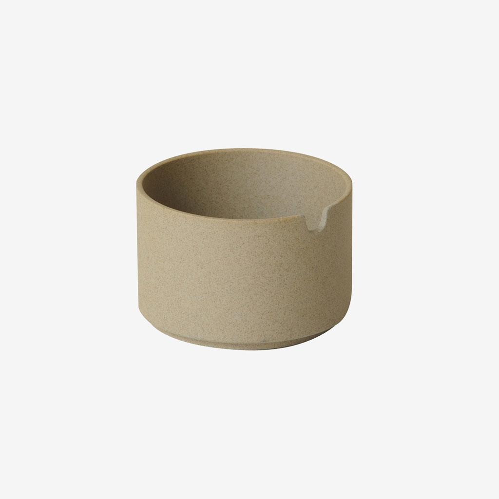 Hasami Porcelain ハサミポーセリン Sugar Pot 85 mm Natural HP017 波佐見焼 激安通販 茶 ベージュ ナチュラル 素焼き シュガーポット 艶無し 磁器 プレゼント 高級な 8.5cm マット 映え ギフト スタッキング シンプル ot 収納 艶消し 新築