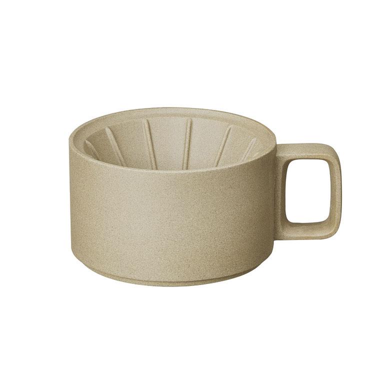 Hasami Porcelain(ハサミポーセリン) Dripper 145mm(Natural)HP030 波佐見焼 磁器 ドリッパー ギフト プレゼント other
