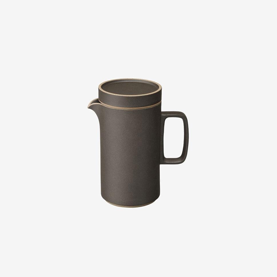 Hasami ◆高品質 Porcelain ハサミポーセリン TeapotTall 85mm Black HPB037 波佐見焼 海外限定 other プレゼント 黒 8.5cm ギフト ティポット 磁器