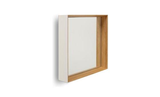 ZERO KAKUミラー 乳白 鏡 壁掛け